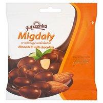 JUTRZENKA Migdały w mlecznej czekoladzie