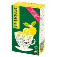 CLIPPER Herbata zielona z cytryną (20 tb.)