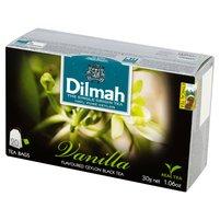 DILMAH Czarna herbata z aromatem wanilii (20 tb.)