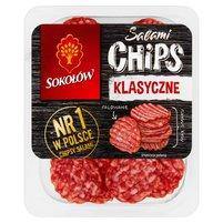 SOKOŁÓW Salami Chips klasyczne w plasterkach falowanych