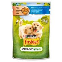 FRISKIES Vitafit Junior z kurczakiem i marchewką w sosie Karma dla szczeniąt