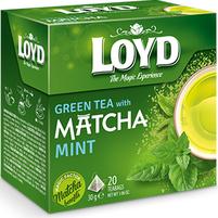 LOYD Herbata zielona z miętą i dodatkiem herbaty Matcha (20 tb.)
