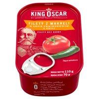 KING OSCAR Filety z makreli w sosie pomidorowym z chili