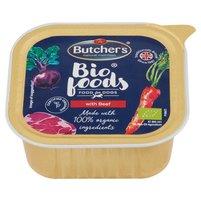 BUTCHER'S Bio Foods Karma dla dorosłych psów pasztet z wołowiną i cielęciną