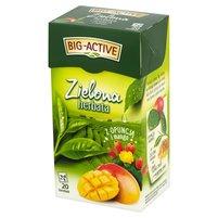 BIG-ACTIVE Zielona herbata z opuncją i mango (20 tb.)