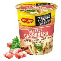 WINIARY Makaron Carbonara z wędzonym boczkiem i śmietanką