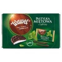 Wawel Pastylka miętowa w czekoladzie 210 g