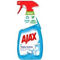 AJAX Triple Action Płyn do czyszczenia szyb