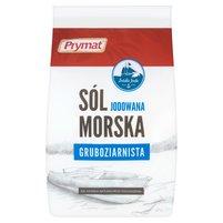 PRYMAT Sól morska jodowana gruboziarnista