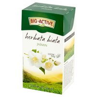 BIG-ACTIVE Herbata biała jaśmin (20 tb.)