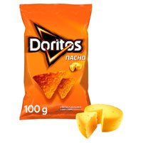DORITOS Nacho Chipsy kukurydziane o smaku serowym