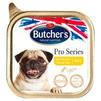 BUTCHER'S Pro Series Light Karma dla psów dorosłych pasztet z kurczakiem ryżem i warzywami