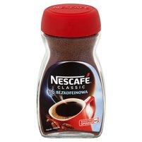 NESCAFÉ Classic Bezkofeinowa Kawa rozpuszczalna