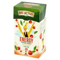 Big-Active Energy Herbata zielona guarana z yerba mate (20 tb.)