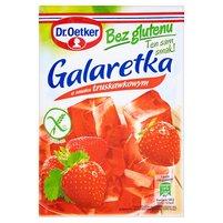 DR. OETKER Galaretka bez glutenu o smaku truskawkowym