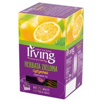 IRVING Herbata zielona cytrynowa (20 tb.)