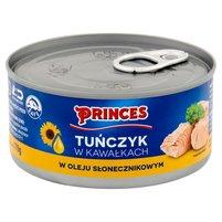 PRINCES Tuńczyk w kawałkach w oleju słonecznikowym