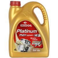 ORLEN Oil Platinum Max Expert C3 Wielosezonowy olej silnikowy 5W-40