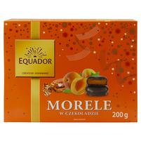 WIODĄCA MARKA Equador Morele w czekoladzie