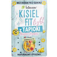 INTENSON Kisiel Fit light z tapioki o smaku ananasowym
