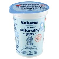 BAKOMA Jogurt naturalny gęsty