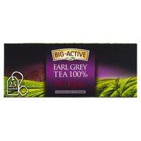 Big-Active Pure Ceylon Earl Grey Herbata 100% 37,5 g (25 torebek)