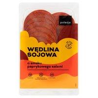 POLSOJA Wędlina sojowa o smaku paprykowego salami