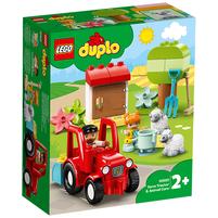 LEGO Duplo Traktor i zwierzęta gospodarskie 10950 (2+)