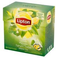 LIPTON o smaku Cytryna i melisa Herbata zielona aromatyzowana (20 tb.)