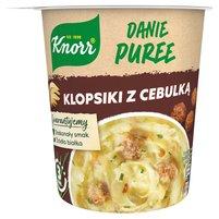 KNORR Danie Puree Klopsiki z cebulką