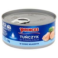 PRINCES Tuńczyk w kawałkach w sosie własnym