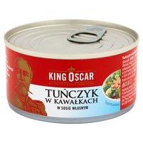 KING OSCAR Tuńczyk z kawałkach w sosie własnym