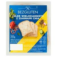 BEZGLUTEN  Chleb wieloziarnisty z ziarnami chia