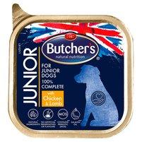 BUTCHER'S Junior Pełnoporcjowa karma dla szczeniąt z kurczakiem i jagnięciną