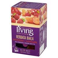 IRVING Herbata biała poziomkowa z mandarynką (20 tb.)