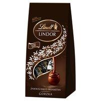 LINDT Lindor Gorzka Pralinki z czekolady gorzkiej z nadzieniem