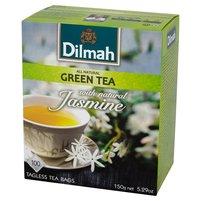 DILMAH Zielona herbata jaśminowa (100 tb.)
