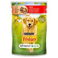FRISKIES Vitafit Adult z wołowiną i ziemniakami w sosie Pełnoporcjowa karma dla dorosłych psów