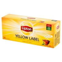 LIPTON Yellow Label Herbata czarna (25 tb.)