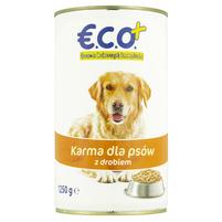 €.C.O.+  Karma dla psów z drobiem 1250g