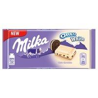 MILKA Biała czekolada Oreo White