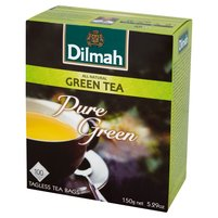 DILMAH Pure Green Herbata zielona (100 tb.)