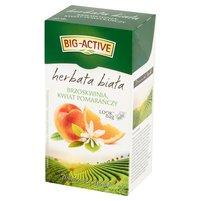 BIG-ACTIVE Herbata biała brzoskwinia kwiat pomarańczy (20 tb.)