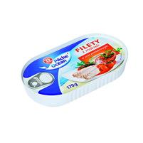 WIODĄCA MARKA Filety z makreli w sosie pomidorowym