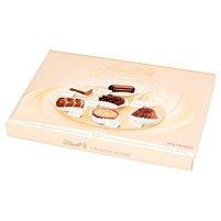 LINDT Creation Dessert Pralinki z czekolady ciemnej mlecznej i białej