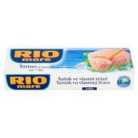 RIO MARE Tuńczyk w sosie własnym (3 x 80 g)