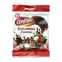 WIODĄCA MARKA Żurawina w czekoladzie mix