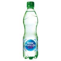 Nestlé Pure Life Woda źródlana gazowana 0,5 l