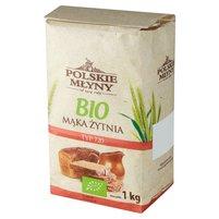 POLSKIE MŁYNY Ekologiczna! Mąka żytnia typ 720