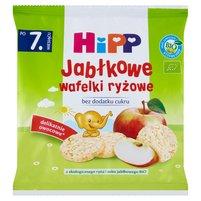 HiPP BIO Jabłkowe wafelki ryżowe po 7. miesiącu
